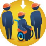 Asesoría a empresas para la inclusión - Bolsa de trabajo de personas con discapacidad