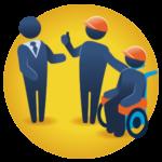 Asesoría a empresas para la inclusión - Seguimiento a las personas contratadas y su desempeño