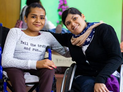 Adultos jóvenes con discapacidad. Únete y participa